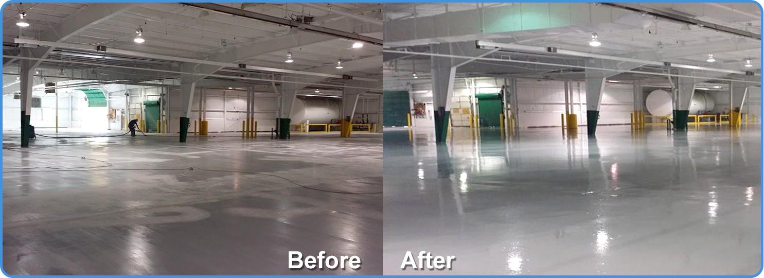 High Quality Michigan Industrial Floor Coatings